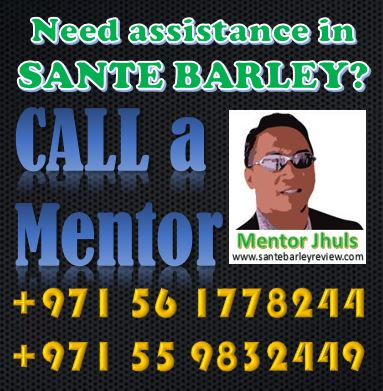 Need assistance in Sante Barley
